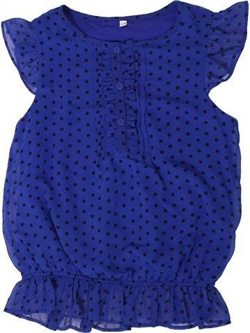 Blouse manches courtes fille MARKS & SPENCER bleu 10 ans été #1331017_1