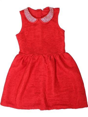Robe fille MARKS & SPENCER rouge 10 ans été #1331110_1