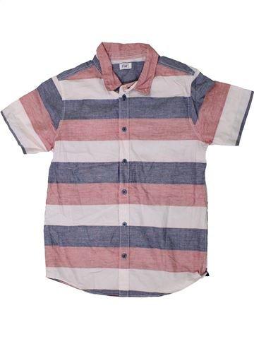 Chemise manches courtes garçon F&F violet 11 ans été #1331114_1