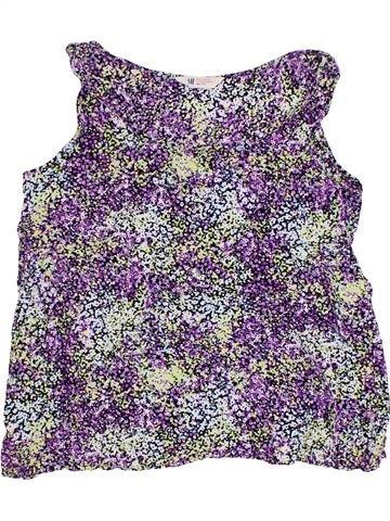 T-shirt sans manches fille H&M gris 14 ans été #1331134_1