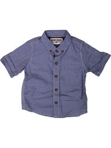 Chemise manches courtes garçon NEXT bleu 6 mois été #1331172_1