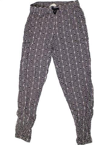 Pantalon fille H&M gris 10 ans été #1331273_1