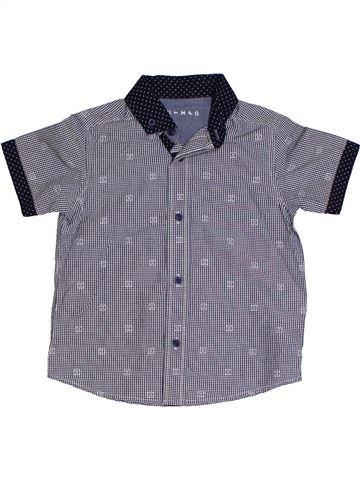 Chemise manches courtes garçon NUTMEG gris 4 ans été #1331316_1