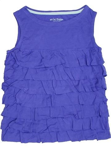 T-shirt sans manches fille MINI BODEN violet 10 ans été #1331320_1