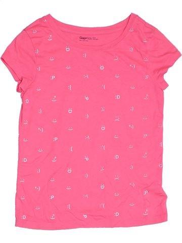 T-shirt manches courtes fille GAP rose 9 ans été #1331375_1