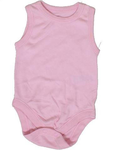 T-shirt sans manches fille MATALAN rose 6 mois été #1331457_1