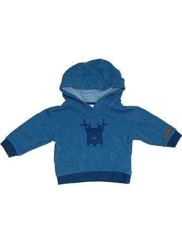 Sweat garçon OKAIDI bleu 12 mois hiver #1331471_1