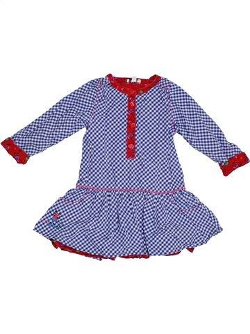 Robe fille KENZO violet 3 ans hiver #1331532_1