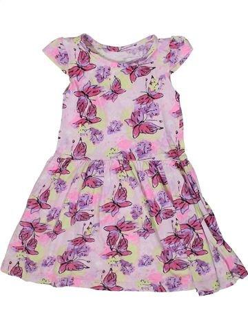 Vestido niña DUNNES STORES rosa 4 años verano #1331580_1