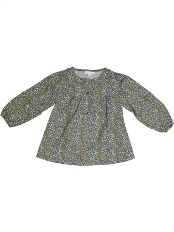 Tunique fille KIMBALOO gris 2 ans hiver #1331582_1