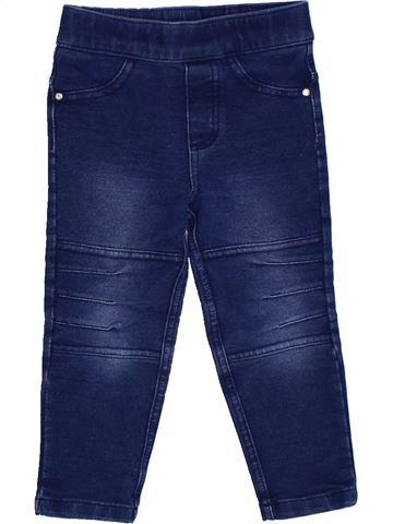 Legging fille 3 POMMES bleu 2 ans hiver #1331606_1