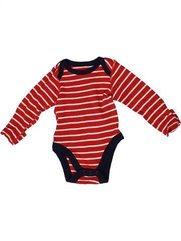 T-shirt manches longues garçon MARKS & SPENCER rouge 6 mois hiver #1331613_1