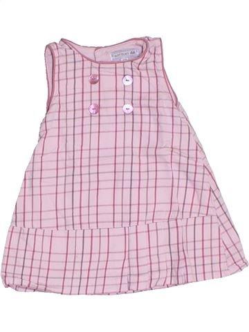 Vestido niña NATALYS rosa 3 meses verano #1332109_1