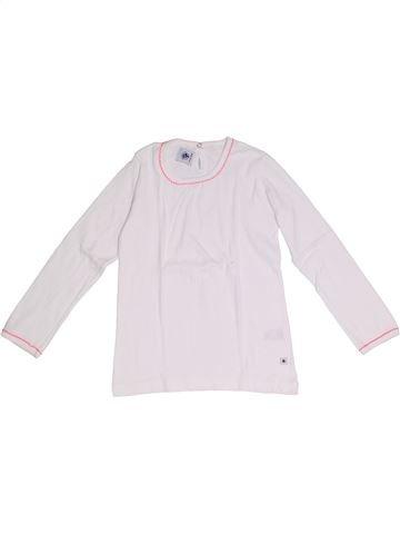 Camiseta de manga larga niña PETIT BATEAU blanco 6 años invierno #1332337_1