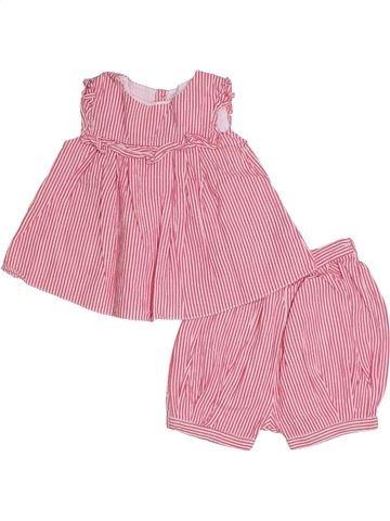Conjunto niña JACADI rosa 1 mes verano #1332386_1