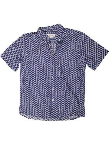Camisa de manga corta niño RIVER ISLAND azul 12 años verano #1332443_1