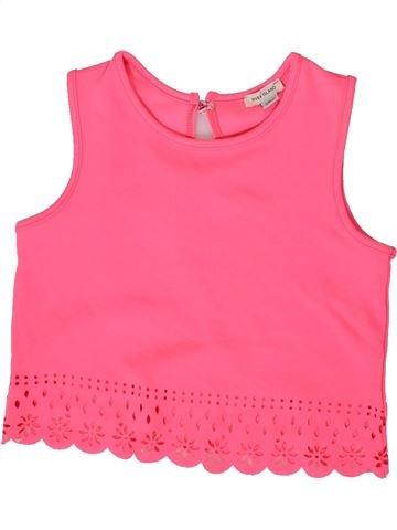 Blusa de manga corta niña RIVER ISLAND rosa 8 años verano #1332676_1