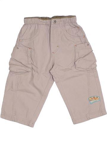 Pantalón niño AUBISOU beige 12 meses verano #1332946_1