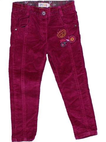 Pantalón niña LA COMPAGNIE DES PETITS violeta 3 años invierno #1332970_1