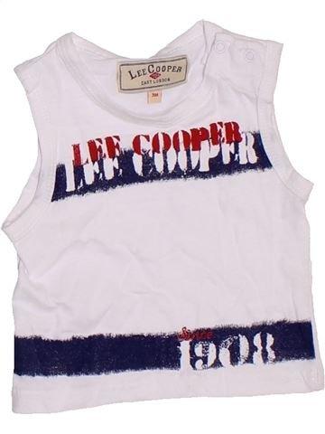 Débardeur garçon LEE COOPER blanc 3 mois été #1332973_1
