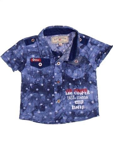 Chemise manches courtes garçon LEE COOPER bleu 3 mois été #1332988_1