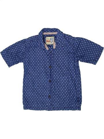 Chemise manches courtes garçon TU bleu 4 ans été #1333460_1