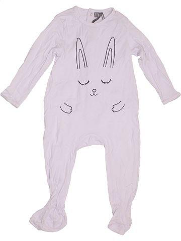 Pijama de 1 pieza niña ORCHESTRA blanco 2 años verano #1333557_1