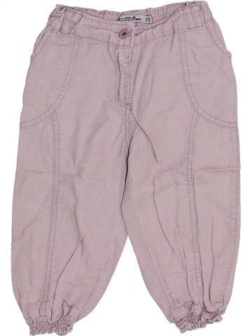 Pantalón corto niña TAPE À L'OEIL rosa 5 años verano #1333669_1