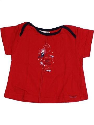 Camiseta de manga corta niña ALPHABET rojo 12 meses verano #1333715_1