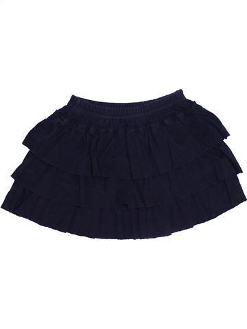 Falda niña PETIT BATEAU negro 4 años verano #1333798_1