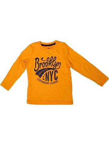 T-shirt manches longues garçon LUPILU orange 4 ans hiver #1333814_1