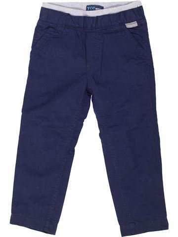 Pantalon garçon YCC-214 bleu 4 ans hiver #1334186_1