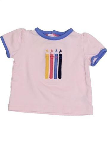 Camiseta de manga corta niña MAMAS & PAPAS blanco 6 meses verano #1334247_1