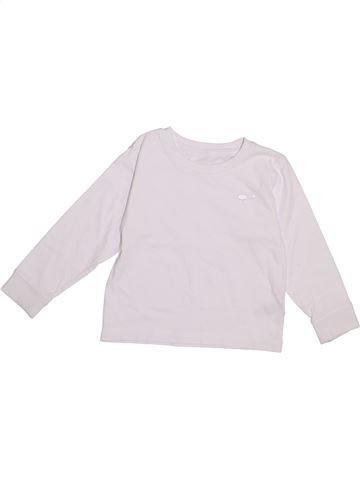 T-shirt manches longues garçon DUNNES STORES blanc 3 ans hiver #1334294_1
