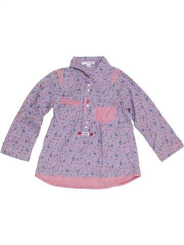 Blusa de manga larga niña CONFETTI violeta 4 años invierno #1334450_1