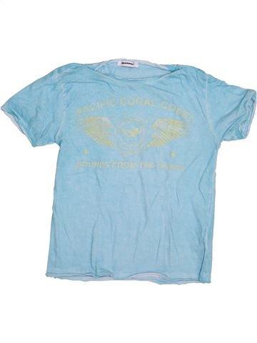 T-shirt manches courtes garçon 3 POMMES bleu 4 ans été #1334726_1