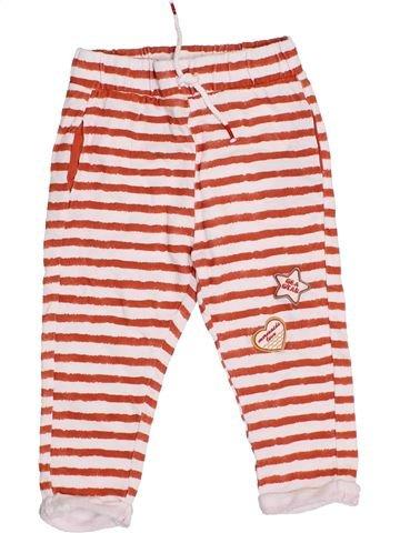 Pantalon fille MANGO rouge 3 ans été #1334838_1