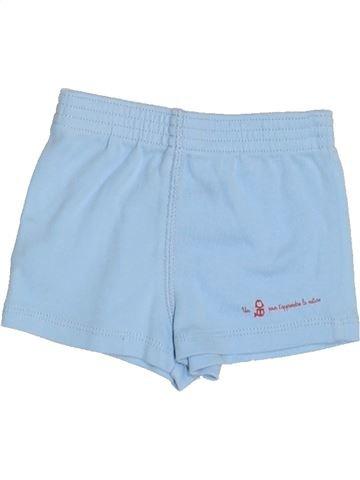 Short - Bermuda garçon OKAIDI bleu 1 mois été #1334861_1