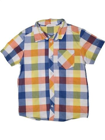 Chemise manches courtes garçon H&M beige 7 ans été #1334959_1