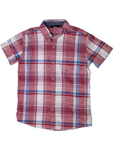 Chemise manches courtes garçon GEORGE violet 11 ans été #1335104_1