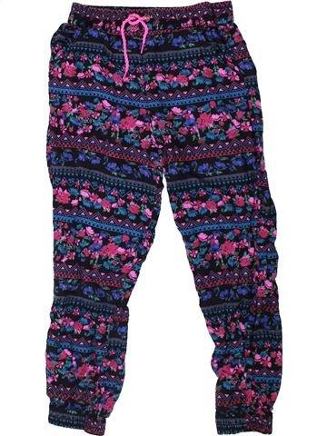 Pantalon fille GEORGE bleu 8 ans été #1335371_1