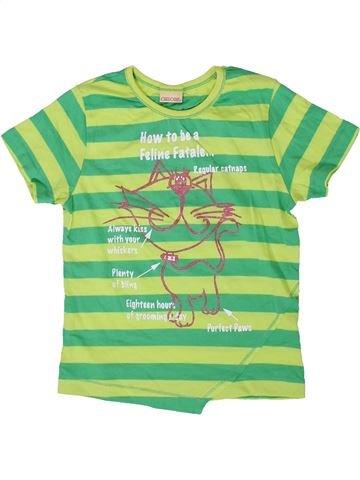 T-shirt manches courtes fille CHEROKEE vert 10 ans été #1335482_1