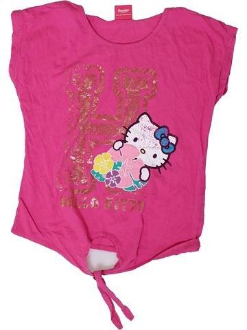T-shirt manches courtes fille PRIMARK rose 11 ans été #1335581_1