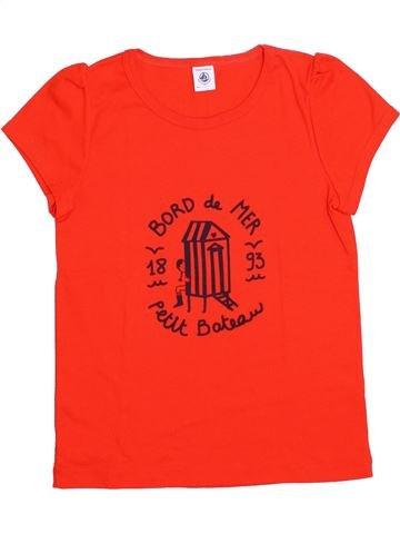 Camiseta de manga corta niña PETIT BATEAU rojo 10 años verano #1335670_1