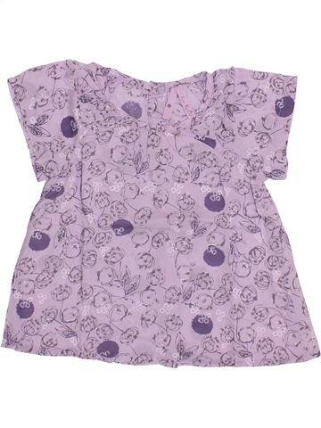Blusa de manga corta niña LISA ROSE violeta 2 años verano #1335674_1