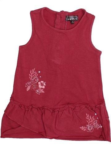 Vestido niña TOUT COMPTE FAIT rojo 6 meses verano #1335749_1