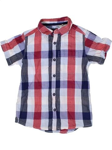 Chemise manches courtes garçon TU blanc 6 ans été #1335822_1