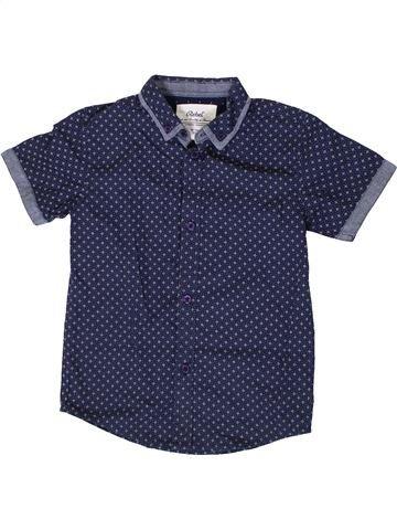 Chemise manches courtes garçon PRIMARK bleu 7 ans été #1335843_1