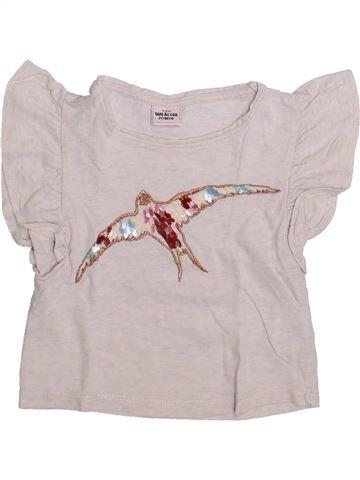 T-shirt manches courtes fille TAPE À L'OEIL rose 2 ans été #1335871_1