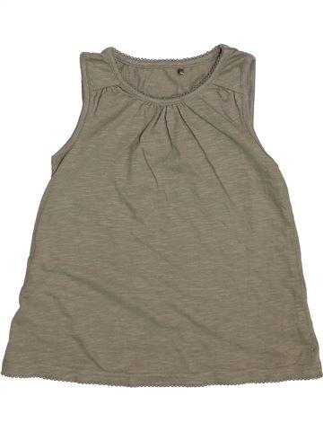 T-shirt sans manches fille GEORGE gris 5 ans été #1335910_1